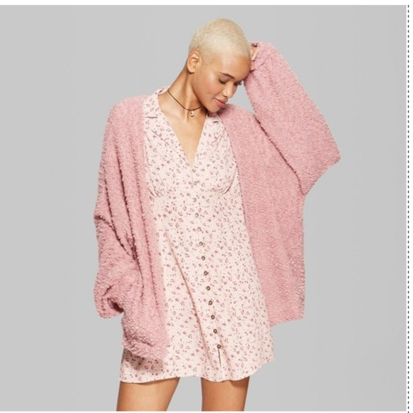f6cfec35991 Wild Fable Sweaters - Wild Fable Blush Rose Mauve Cardigan